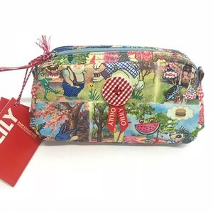 New Oilily Fairy Pencil Case /Makeup Bag